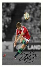 LEIGH HALFPENNY 2013 BRITISH LIONS AUTOGRAPHED SIGNED A4 PP POSTER PHOTO