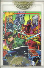 WIZARD MAGAZINE SERIES 2 1993 FACTORY SEALED GOLD PROMO CARD 9 STRYKE FORCE