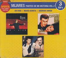 CD - Mijares Partes De Mi Historia Vol.2 NEW 3 CD's Oferta FAST SHIPPING!