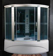 Cabina Idromassaggio 150x150 Box doccia Vasca Sauna Bagno Turco cromoterapia|q6