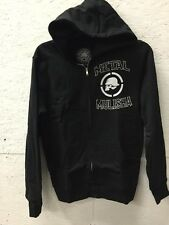 METAL MULISHA PROFILE ZIP UP HOODY BLACK Small $52.00 Retail New