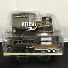 GREENLIGHT 1/64 HITCH & TOW SERIES 5 2015 FORD F-150 AND FLATBED TRAILER NEW