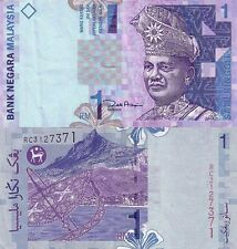 1 MALAYSIAN RINGGIT BANKNOTE P39 2000 MALAYSIA UNCIRCULATED