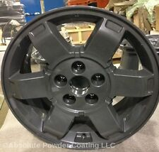 Black Chrome and Clear Powder Coating Paint