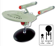 STAR TREK Official Starships Mag Oversized Ed #1 USS Enterprise NCC-1701 11 inch