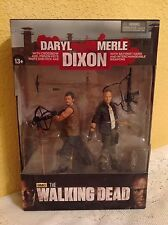 MCFARLANE THE WALKING DEAD DARYL & MERLE DIXON ACTION FIGURE SET SERIES 4 NEW