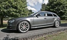 "20"" Audi A4 S4 RS4 Alloy Wheels - Raywell Design JRR - Hyper Silver 5x112"