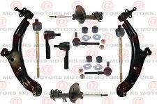 2000-2001 Sentra Suspension & Steering Shocks Tie Rods Control Arms Sway Bars