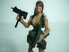 "D0506997 LARA CROFT TOMB RAIDER CUSTOM FIGURE 3-3/4"" 3.75 1/18 INCH ACTION"