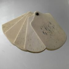Carnet De Bal Ancien Monogramme MN XIXè Antique French Dance Card 19thC