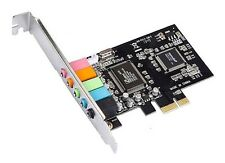 New CMI8738 Chipset 5.1CH 6-Channels 3D PCI-Express Digital Audio Sound Card