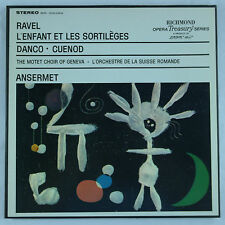 Ravel: L'enfant et les Sortileges/Ansermet  - UK London Records 1LP Box Set EX