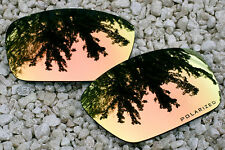 Peach Gold Polarized Replacement Sunglass Lenses for Oakley Fuel Cell