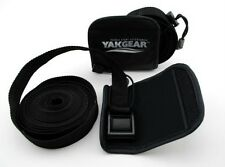 Yak Gear Tie Down Straps 15' with carry case and padded covers, kayak, canoe SUP