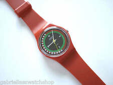 COMPASS! Rare 1984 Collectible Red Ladies Swatch-EUC!