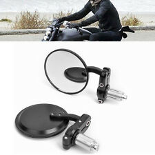 "ROYAL ENFIELD BULLET Motorcycle Rear view Side Mirror For 7/8""  Handlebar..."
