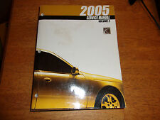 2005 SATURN L SERIES  Dealership Factory Service Repair Manual, VOLUME 2