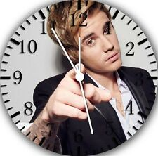 "Justin Bieber wall Clock 10"" will be nice Gift and Room wall Decor E361"