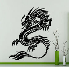 Dragon Tribal Wall Decal Animal Vinyl Sticker Home Art Decoration Mural (2dr)