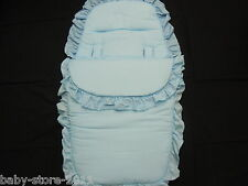 BELLISSIMO. carrozzina cosytoes / Footmuff Colore Baby Blu
