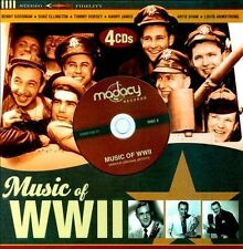 Music of WWII by Various Artists (CD, 2009, 4 Discs) FREE SHIPPING!!