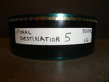 FINAL DESTINATION 5  2011 35mm Movie Trailer   SCOPE  2min  15secs  USED