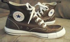 Converse Brown LEATHER Shoes Men's Size 6 Chuck Taylor All Star High Top