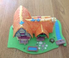 VINTAGE POLLY POCKET DISNEY 1995 da Bluebird Toys BIANCANEVE Cottage