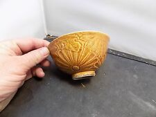Hand Thrown Carved  pottery bowl asian ?? pottery bowl