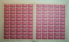 1961  ITALIA 15 lire Giornata del Francobollo  foglio doppio intero MNH**