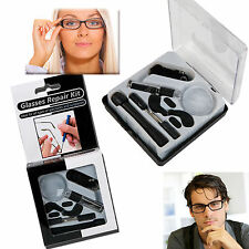 SPECTACLES OPTICAL REPAIR KIT GLASSES SUNGLASSES TOOL WATCH SCREWDRIVER SCREWS