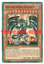 Yu-Gi-Oh: ROTÄUGIGER FINSTERER METALLDRACHE , common , NEU