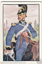Sergeant Cavalry Royal Saxon Army Deutsche Heer Germany Uniform IMAGE CARD 30s