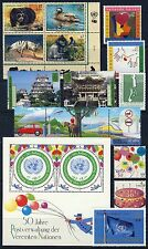 UN - Vienna - 2001 Year Set . 16 Stamps & 1 Sheet . Mint Never Hinged