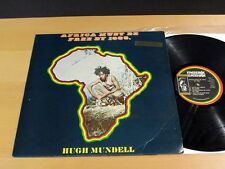 Reggae HUGH MUNDELL Africa Must Be Free By 1983 MESSAGE RECORDS JAMAICA VG++/NM-