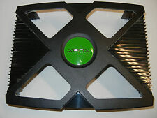 Custom made original Xbox case with BLUE LED kit mods modding window mod shell
