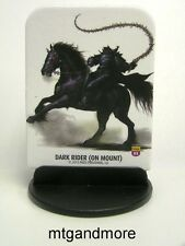 Pathfinder Battles Pawns / Tokens - #082Dark Rider (on Mount) - Shattered Star