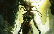 POSTER MAGIC THE GATHERING L'ADUNANZA MTG CARTE CARDS FANTASY VRASKA THE UNSEEN