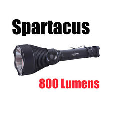 Powertac Spartacus Xlt 800-lumen Hunting Flashlight with 800 Meter Throw
