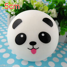 1x 5CM Squishy Charms Buns Cell Phone Charm Cute Mini Panda Bag Strap 2017 Ck