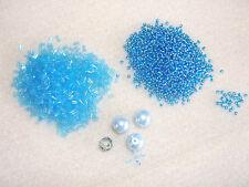 Vendita di Smobilizzo-semplice decorazione di perline del principiante KIT-Diamond Zig-Zag Chain-Aqua