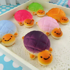1pc Turtle Bread Scented Squishy Squeeze Toy Phone Charms Bun Soft Toys Random