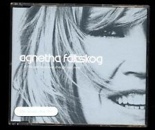 ABBA - Agnetha Fältskog - If I Thought You'd Ever Changed Your CD Single GERMANY