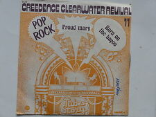 CREEDENCE CLEARWATER REVIVAL Proud mary Born on the bayou Tubes story TS11