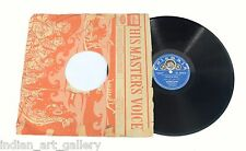 Vintage Rare Collectible Indian Gramophone Music Record. i46-35