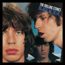 The Rolling Stones - Black and Blue - Framed Album Cover Print ACPPR48033
