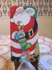 THE NIGHT BEFORE CHRISTMAS Clement C. Moore Whitman Vintage Flocked 1968 SC