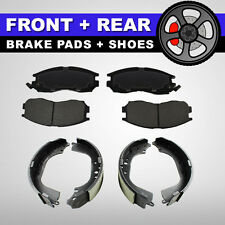FRONT + REAR Ceramic Disc Brake Pads + Shoes 2 Sets Ford Windstar 1999-2003