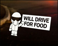 UNEMPLOYED STIG Car Decal Vinyl Vehicle Bumper Sticker BBC Funny Top Gear