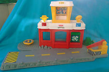 Fisher-Price Discovery Airport Terminal (Red) for modern Little People
